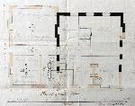 Ground floor plan of the Rectory 1839 [X254-88-77]